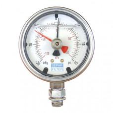 Вакуумный монометр для фильтра Separ 2000