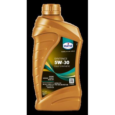 Eurol Syntence 5W-30  API SN; ACEA C3  VW 504.00; VW 507.00 (синт), 1л
