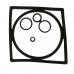 Ремкомплект сальников для фильтра Separ 2000/5