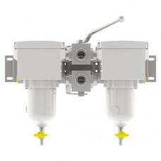 Сепаратор Separ SWK-2000/18 сдвоенный с мет. колбой и контактами